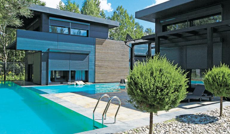 Роллеты Prestige для деревянных домов